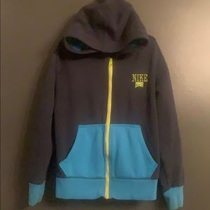 Nike Zip Up Hoodie Boys Size Small